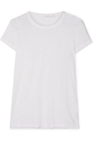 rag & bone | The Tee slub Pima cotton-jersey T-shirt | NET-A-PORTER.COM