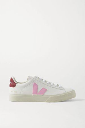 White Campo leather sneakers | Veja | NET-A-PORTER