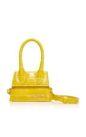 large_jacquemus-yellow-le-chiquito-embossed-leather-bag.jpg (1598×2560)
