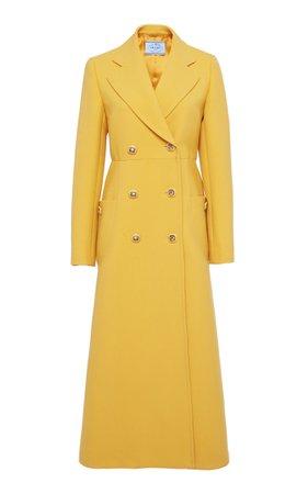 Double-Breasted Wool Coat By Prada | Moda Operandi