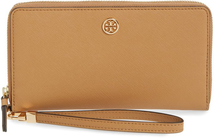 Robinson Zip Leather Continental Wallet