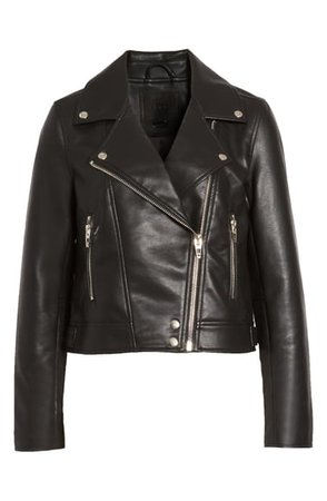 BLANKNYC Good Vibes Faux Leather Moto Jacket | Nordstrom