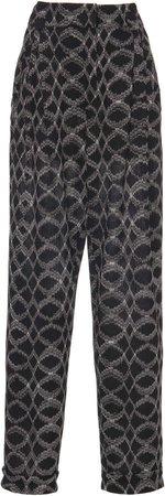 Missoni Printed Knit Straight-Leg Pants