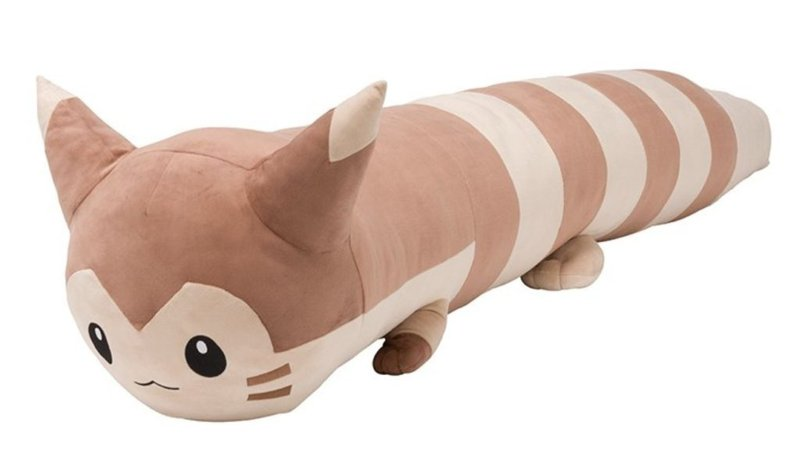 lifesize furret plush