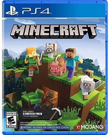 Amazon.com: Minecraft Starter Collection - PlayStation 4: Sony Interactive Entertai: Video Games