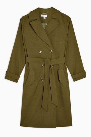 Khaki Trench Coat | Topshop