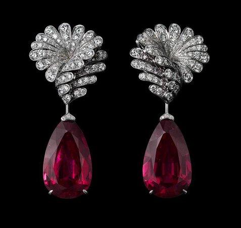 high jewelry earrings - Google Search