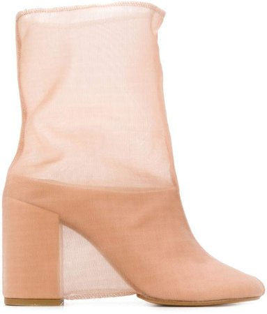 covered ankle boots