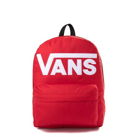 Vans Old Skool Drop V Backpack - Red | Journeys