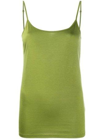 Green Luisa Cerano basic cami top 32821174380 - Farfetch
