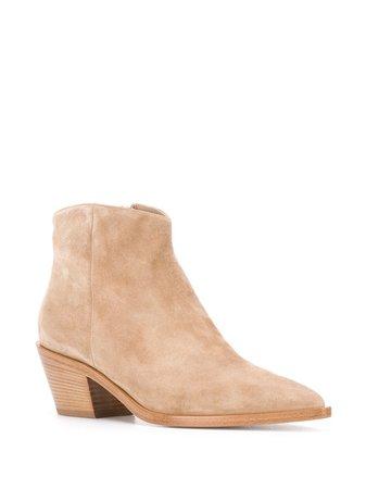 Gianvito Rossi Texas cuban-heel Boots - Farfetch
