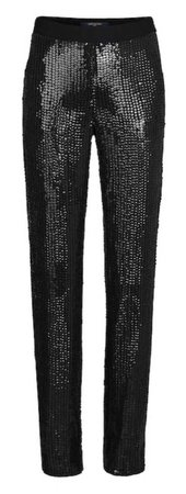 sequins Louis Vuitton pants