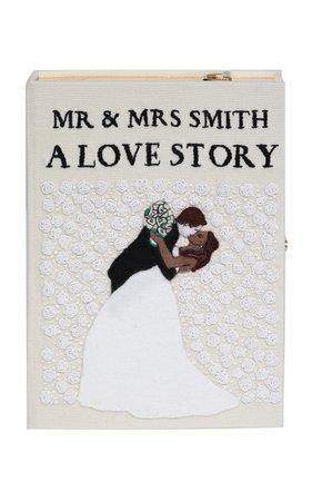 A Love Story Book Clutch by Olympia Le-Tan | Moda Operandi