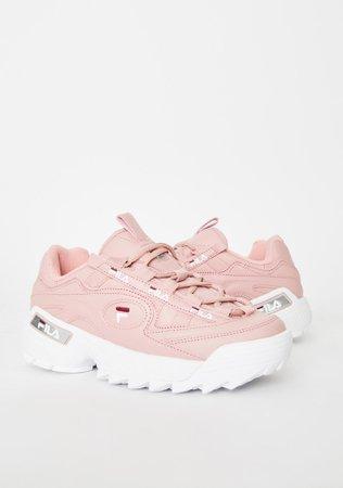 Fila Pink D-Formation Sneakers | Dolls Kill