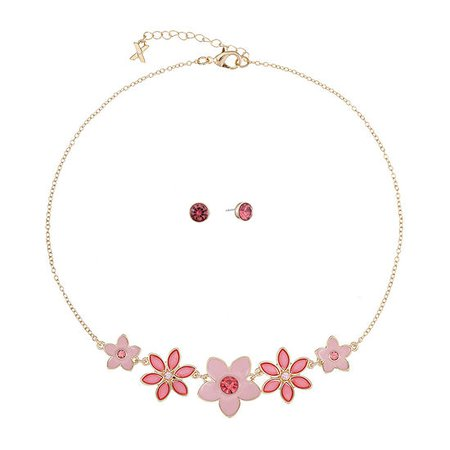 Mixit 2-pc. Flower Jewelry Set - JCPenney