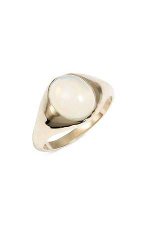 Loren Stewart Large Opal Signet Ring | Nordstrom