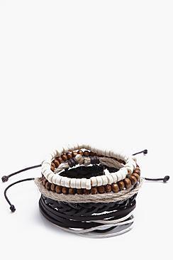 Plait Woven Stack Bracelet