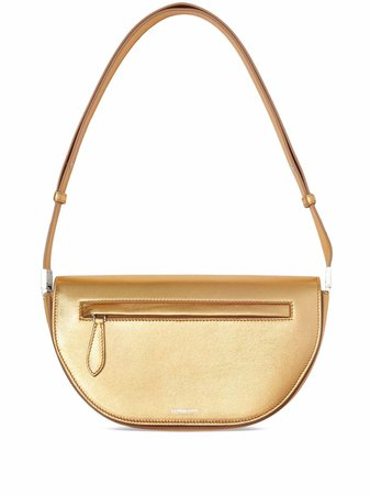 Burberry metallic-effect Small Olympia Bag - Farfetch