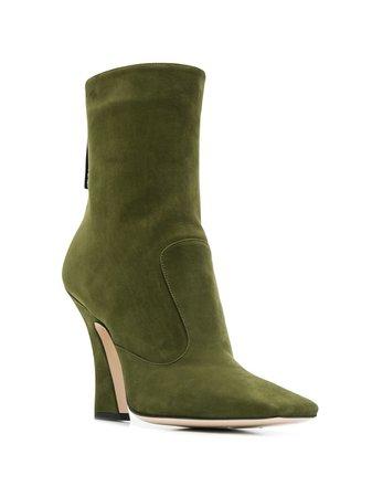 Fendi FFreedom Square Toe Ankle Boots - Farfetch