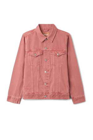 Single Jacket Rose - Coral - Jackets - Weekday GB