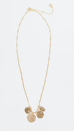 Gorjana Banks Mixed Coin Necklace | SHOPBOP