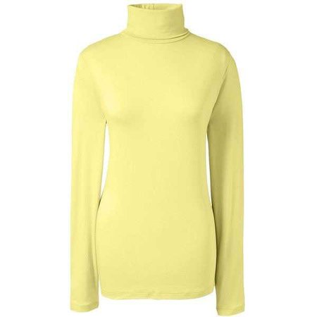 Lands' End Women's Petite Shaped Layering Turtleneck ($26)