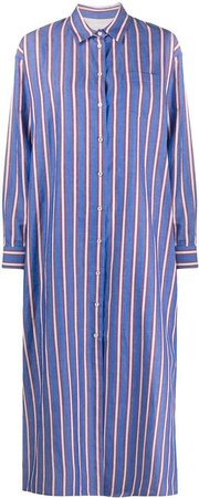 Weekend Offender Striped Oversized Shirt