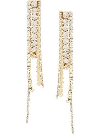AREA Chandelier Earrings - Farfetch