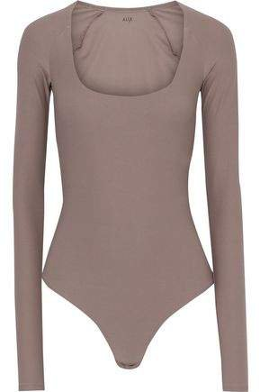 Sullivan Stretch-jersey Thong Bodysuit