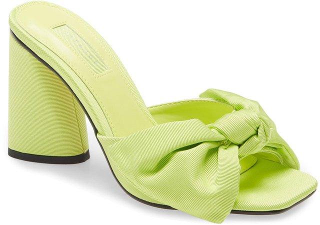 Saucy Bow Slide Sandal