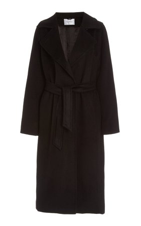 Manuela Belted Camel Wool Trench Coat By Max Mara | Moda Operandi