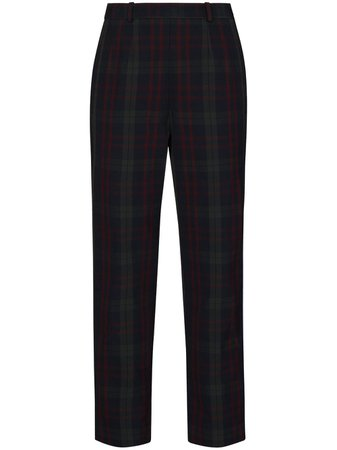 Rosie Assoulin Checked straight-leg Trousers - Farfetch