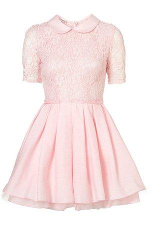 7gofuw-l-610x610-dress-pink+dress-pastel-pink-kawaii-lace-peter+pan+collar.jpg (407×610)