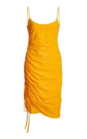 Marina Ruched Stretch-Jersey Dress By Ciao Lucia   Moda Operandi