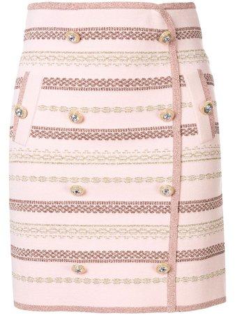 Alice Mccall Black Magic Button Mini Skirt