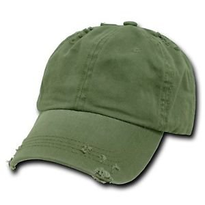 Olive Green Vintage Distressed Weathered Torn Polo Baseball Cap Caps Hat Hats 688295064473 | eBay