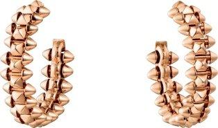 CRB8301415 - Clash de Cartier earrings Small Model - Pink gold - Cartier