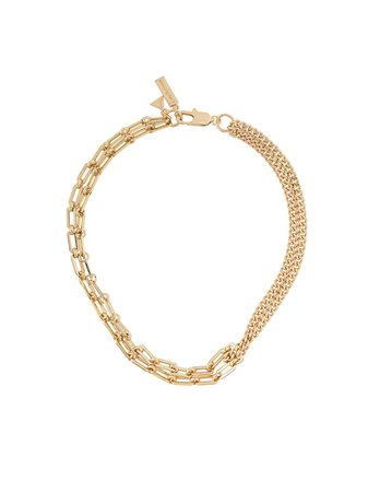 Coup De Coeur Mixed Chain Necklace - Farfetch