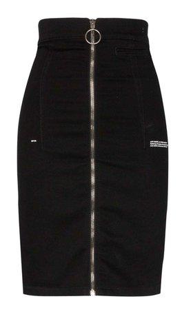 zipper off white