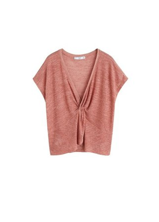 MANGO Fine knit top