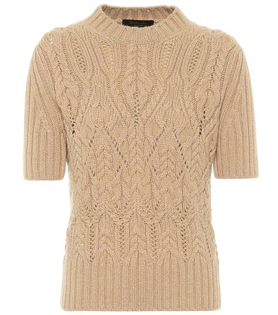 Loro Piana, Cable-knit cashmere sweater