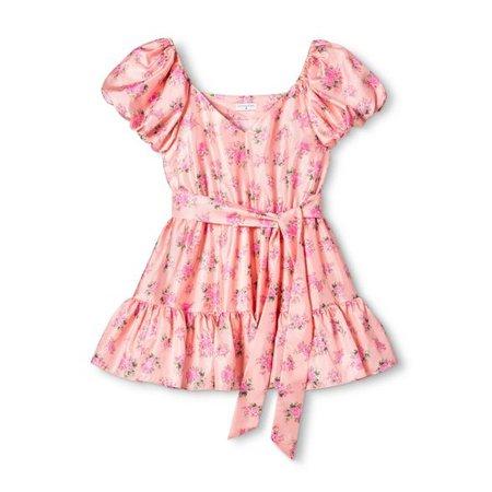 Women's Cécile Puff Sleeve Dress - LoveShackFancy For Target (Regular & Plus) Pink Melon : Target
