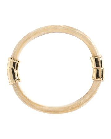 Akola Rosa Blonde Horn Bangle Bracelet