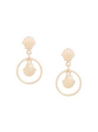 Petite Grand Shell Earrings | Farfetch.com