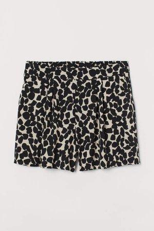 H&M+ Shorts High Waist - Beige