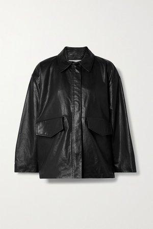 Nordkapp Leather Jacket - Black