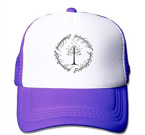 Amazon.com: The Lord of The Rings Unisex Adjustable Mesh Hats Baseball Trucker Cap Purple: Clothing