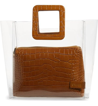 STAUD Shirley Transparent Tote | Nordstrom