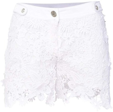 lace fitted shorts