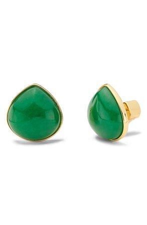kate spade new york jade teardrop stud earrings | Nordstrom